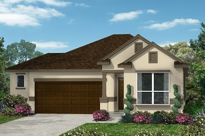 New Homes in Kyle, TX - Plan E-1591 E