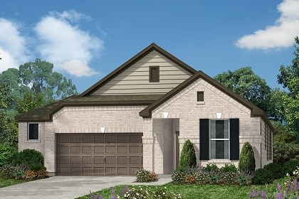New Homes in Kyle, TX - Plan E-1647 B