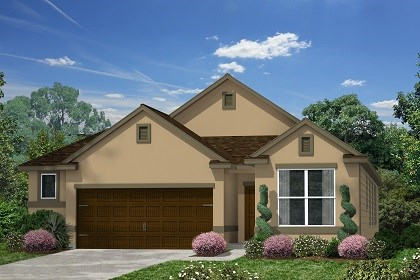 New Homes in Kyle, TX - Plan E-1647 E