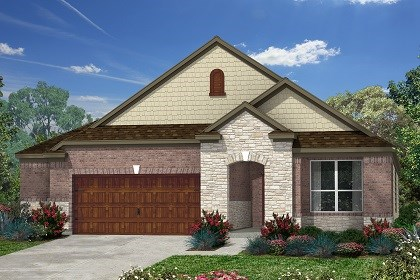 New Homes in Kyle, TX - Plan A-1792 C
