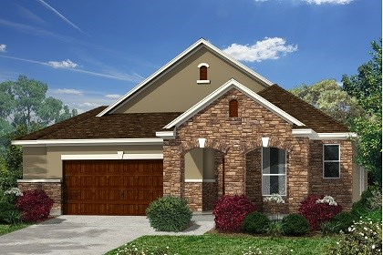 New Homes in Kyle, TX - Plan A-1996 D