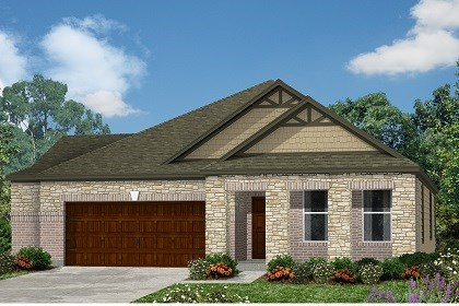 New Homes in Kyle, TX - Plan A-2089 C