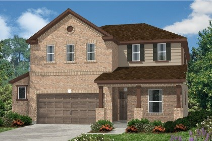 New Homes in Kyle, TX - Plan E-2403 C
