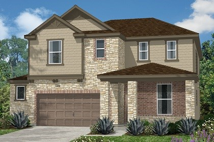 New Homes in Kyle, TX - Plan E-2403 D