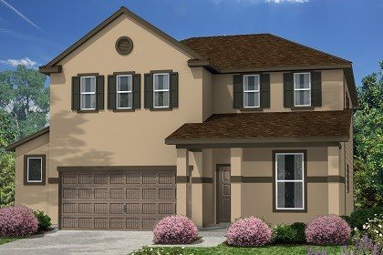 New Homes in Kyle, TX - Plan E-2403 E