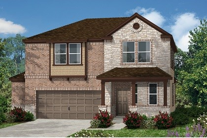 New Homes in Kyle, TX - Plan E-2412 D