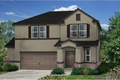 New Homes in Kyle, TX - Plan E-2412 E