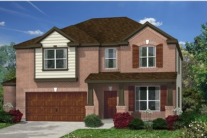 New Homes in Kyle, TX - Plan A-2755 B