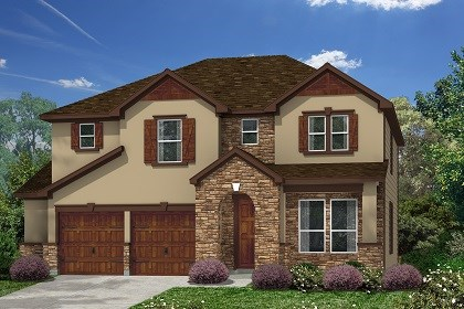 New Homes in Kyle, TX - Plan A-2755 D
