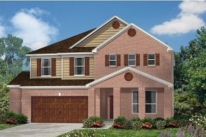 New Homes in Kyle, TX - Plan A-2881 B
