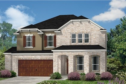 New Homes in Kyle, TX - Plan A-2881 D