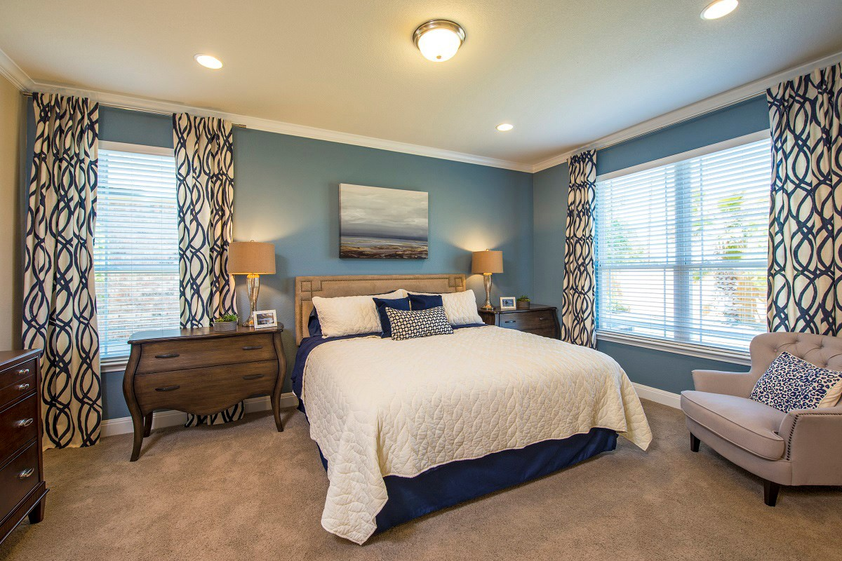 New Homes in Georgetown, TX - Creekside at Georgetown Village Plan E-1647 Master Bedroom