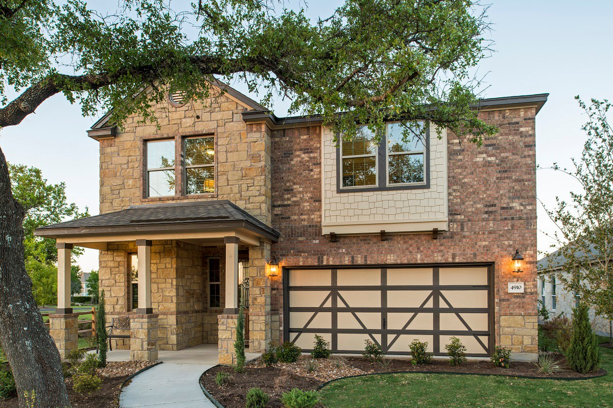 New Homes in Georgetown, TX - Creekside at Georgetown Village Plan E-2412