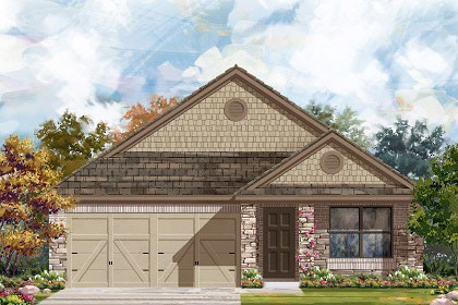 New Homes in Georgetown, TX - Plan E-1647 J