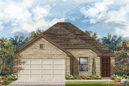 New Homes in Georgetown, TX - Plan E-1694 H