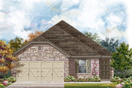 New Homes in Georgetown, TX - Plan E-1694 J