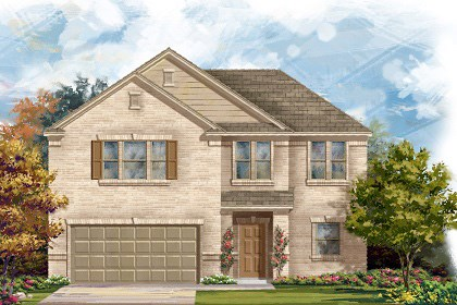 New Homes in Georgetown, TX - Plan A-2183 A