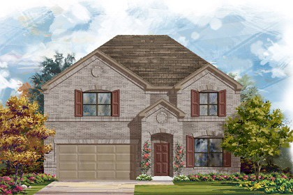 New Homes in Georgetown, TX - Plan A-2755 A