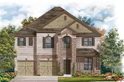 New Homes in Georgetown, TX - Plan A-2755 C