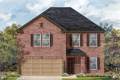 New Homes in Georgetown, TX - Plan E-2898 H