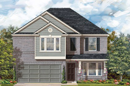 New Homes in Georgetown, TX - Plan E-2898 I