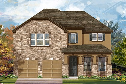 New Homes in Georgetown, TX - Plan A-3023 D