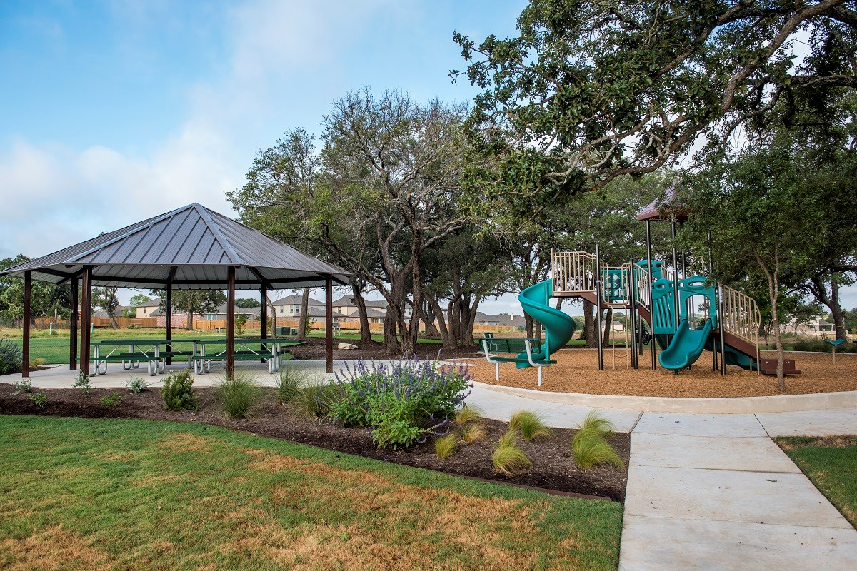 New Homes in Georgetown, TX - Creekside at Georgetown Village Community Park