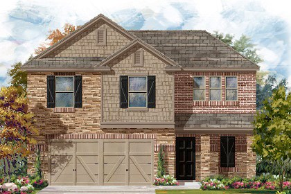 New Homes in Georgetown, TX - Plan E-1895 J