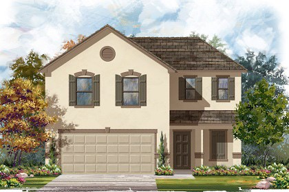 New Homes in Georgetown, TX - Plan E-1895 K