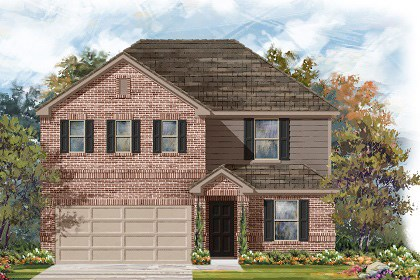 New Homes in Georgetown, TX - Plan E-2403 H