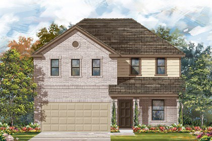 New Homes in Georgetown, TX - Plan E-2403 I