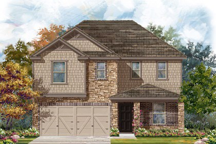 New Homes in Georgetown, TX - Plan E-2403 J