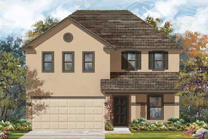 New Homes in Georgetown, TX - Plan E-2403 K