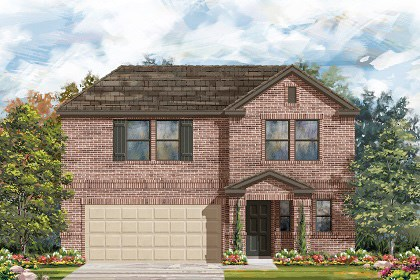 New Homes in Georgetown, TX - Plan E-2412 I