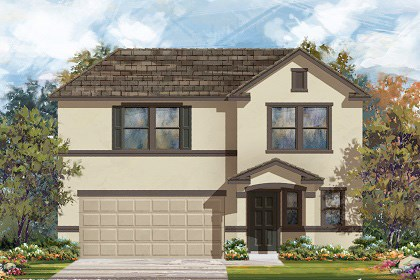 New Homes in Georgetown, TX - Plan E-2412 K