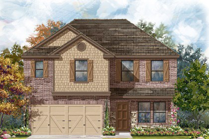 New Homes in Georgetown, TX - Plan E-2561 J