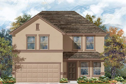 New Homes in Georgetown, TX - Plan E-2561 K