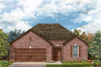 New Homes in Pflugerville, TX - Plan A-1792 A
