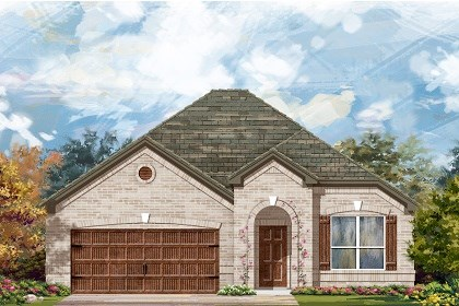 New Homes in Pflugerville, TX - Plan A-1792 B