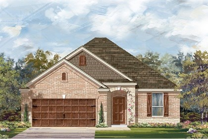 New Homes in Pflugerville, TX - Plan A-1792 C