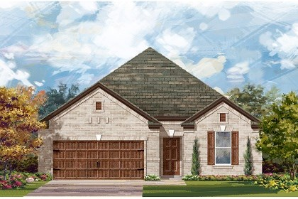 New Homes in Pflugerville, TX - Plan A-1965 A