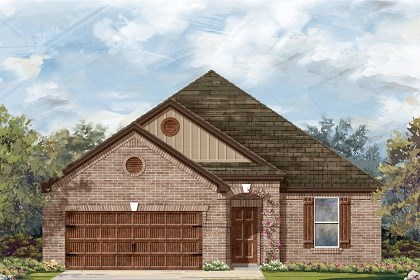 New Homes in Pflugerville, TX - Plan A-1965 B