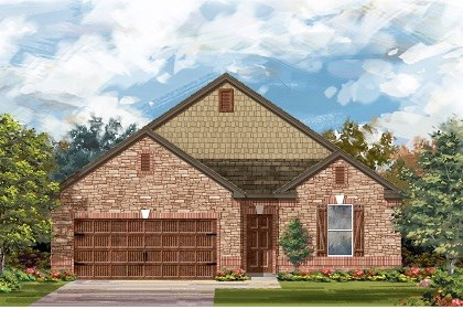 New Homes in Pflugerville, TX - Plan A-1965 C