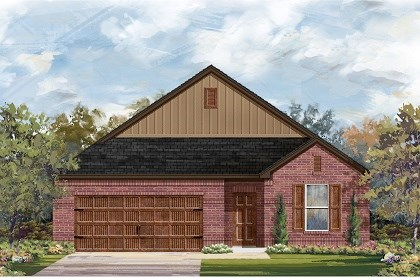 New Homes in Pflugerville, TX - Plan A-1996 A