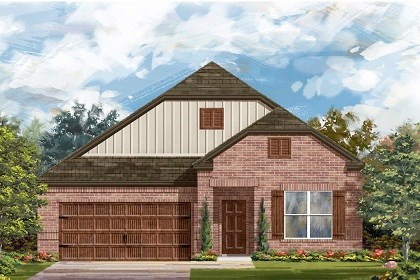 New Homes in Pflugerville, TX - Plan A-1996 B