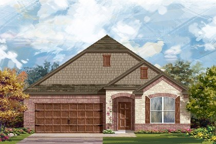 New Homes in Pflugerville, TX - Plan A-1996 C