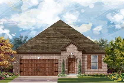 New Homes in Pflugerville, TX - Plan A-2089 A