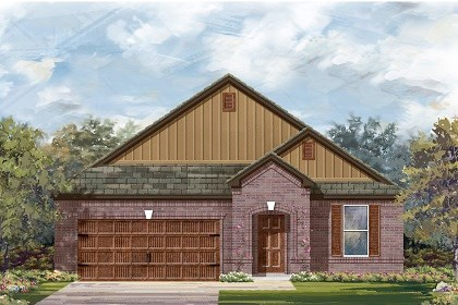 New Homes in Pflugerville, TX - Plan A-2089 B