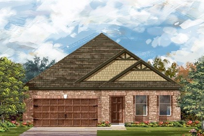 New Homes in Pflugerville, TX - Plan A-2089 C