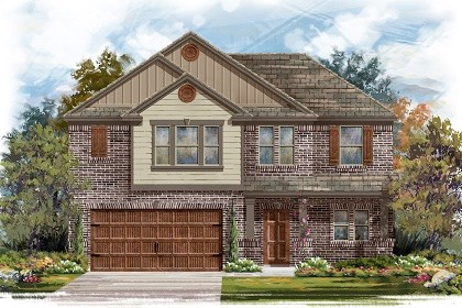 New Homes in Pflugerville, TX - Plan A-2183 B